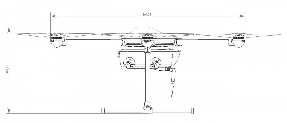 Беспилотный авиационный комплекс Сокол-6 006